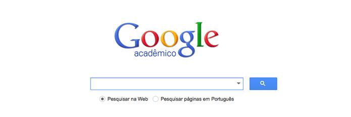 Google Acadêmico (Foto: Reprodução/Google)