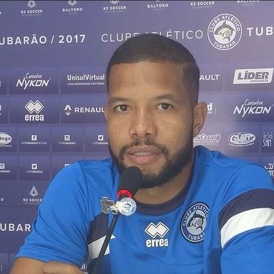 Guilherme Andrade Tubarão (Foto: Divulgação/Comunicação CA Tubarão)