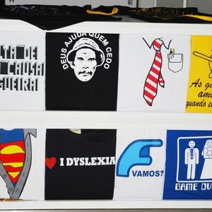 Com mensagens engraçadas, as Camisetas da Hora começaram ser vendidas no Mercado Livre (Foto: Divulgação/Camisetas da Hora)