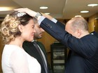 Andressa Urach se declara ao marido: 'Amor de infância'