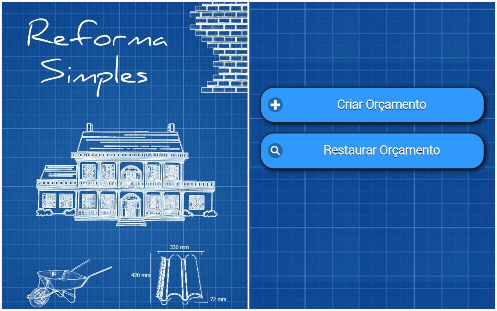 Aplicativo Reforma Simples foi criado por analista de sistemas e engenheiro civil de Rio Branco (Foto: Reprodução/Reforma Simples)