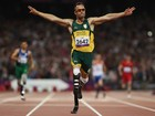 Pistorius sobra na pista e leva ouro nos 400m; Fonteles  o 4 (Getty Images)