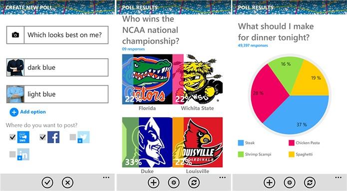 Straw é um aplicativo capaz de publicar enquetes para seus amigos nas redes sociais (Foto: Divulgação/Windows Phone Store)