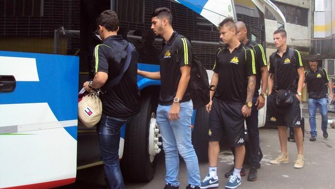 Criciúma viagem Copa do Brasil (Foto: Douglas Sartor/www.criciumaec.com.b)