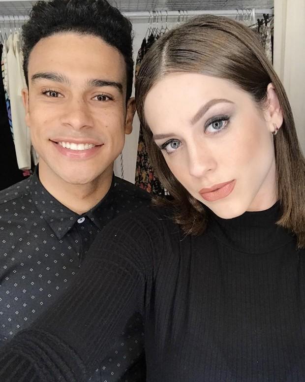 Sérgio Malheiros e Sophia Abrahão (Foto: Reprodução / Instagram)