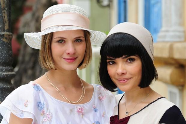 Ao lado de Vanessa Giácomo em Gabriela, onde interpretava Gerusa (Foto: Rede Globo/Estevam Avellar)