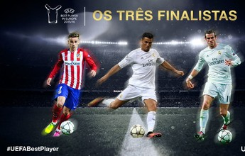 Sem MSN: CR7, Bale e Griezmann disputarão posto de melhor da Europa
