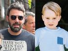 Ben Affleck diz que Príncipe George passou resfriado para seu filho