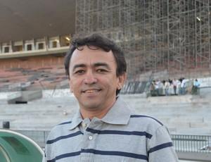 Arlan Rodrigues, diretor executivo do Atlético de Cajazeiras (Foto: Hévilla Wanderley / GloboEsporte.com/pb)