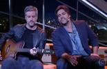 """Victor & Leo cantam """"Na Linha do Tempo"""""""