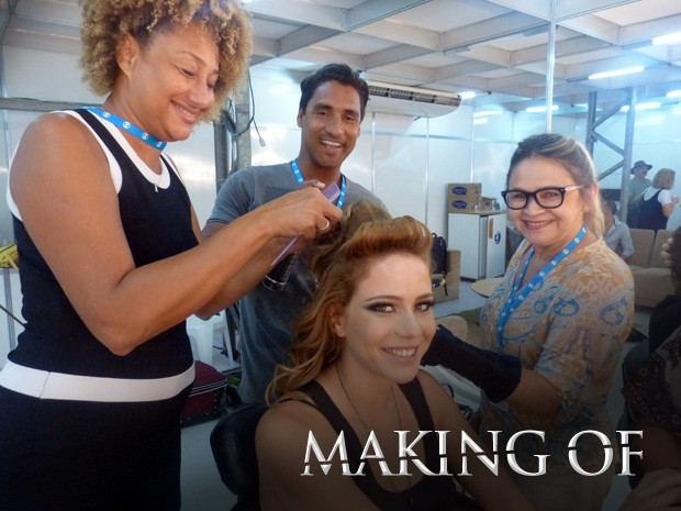 Making Of, Império (Foto: Gshow)