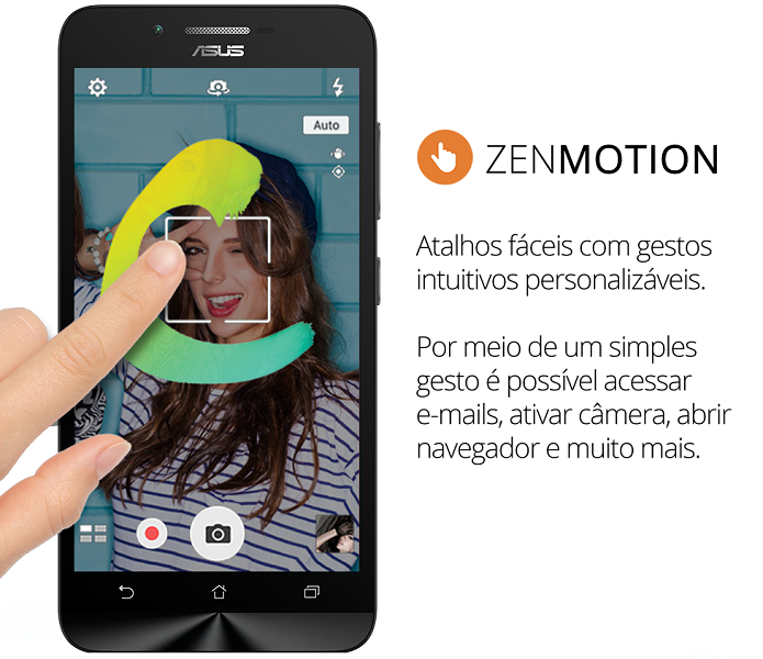 Zenfone Go e Asus Live têm nova interface da Asus (Foto: Divulgação/Asus)