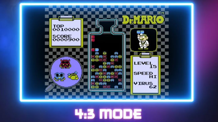 NES Classic possui três filtros de imagem diferentes (Foto: Divulgação/Nintendo)