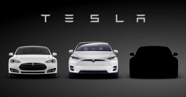Tesla divulga teaser do novo Model 3 (Foto: Divulgação)