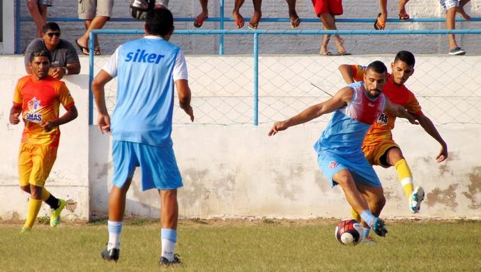 Potiguar de Mossoró - jogo-treino - Sidney, volante (Foto: Marcelo Diaz/Divulgação)