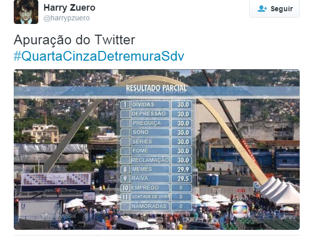 meme carnaval 13 (Foto: Reprodução/Twitter)