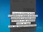 Projeto de lei quer fiscalizar uso de aviões do governo de Goiás