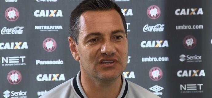 Doriva, técnico do Atlético-PR (Foto: Reprodução/RPC TV)