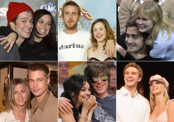 Casais dos anos 2000  (Foto: Getty Images)