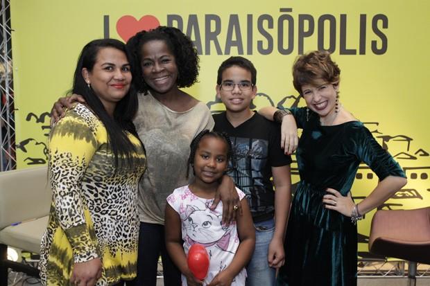 Zezeh Barbosa e Maureen Miranda I Love Paraisópolis (Foto: Luiz Renato Correa/RPC)