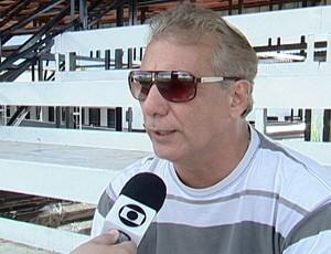 Dailson Lettieri, presidente do Araxá Esporte Clube (Foto: Reprodução/TV Integração)