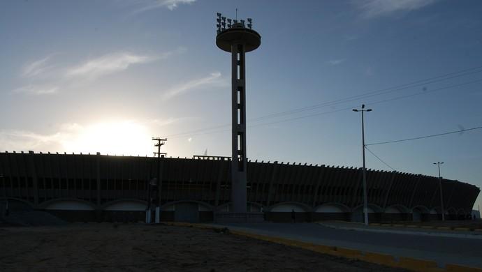 Estádio Amigão, Campina Grande (Foto: Silas Batista / GloboEsporte.com)
