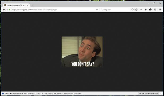 Agora o Firefox não irá carregar gifs automaticamente (Foto: Reprodução/Filipe Garrett)