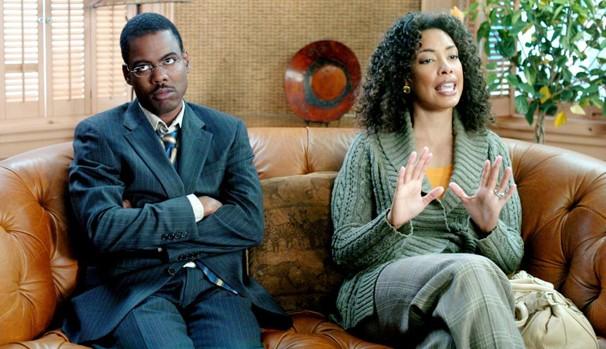 Richard Cooper (Chris Rock) tem fantasias constantes com outras mulheres (Foto: Divulgação/Reprodução)