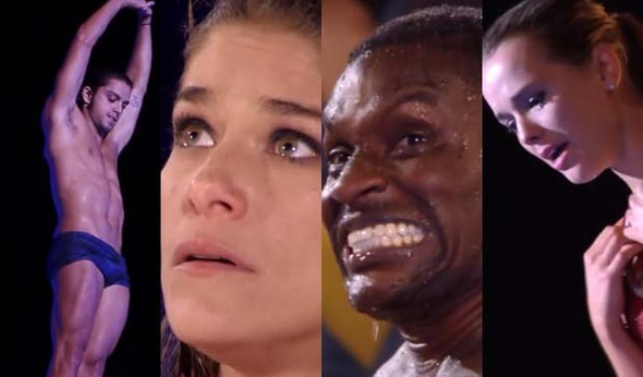 Choro, grito, tensão e 'dancinha' nos bastidores