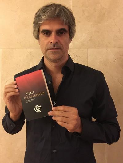 Português, Luís Miguel é apaixonado pelo Flamengo (Foto: Arquivo pessoal)