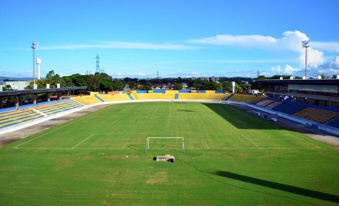 Estádio Martins Pereira - São José dos Campos - março de 2014 (Foto: Danilo Sardinha/GloboEsporte.com)