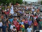 Trabalhadores protestam em Macapá contra a reforma da Previdência