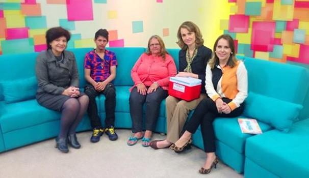 Painel RPC TV Doação (Foto: Divulgação/ RPC TV)