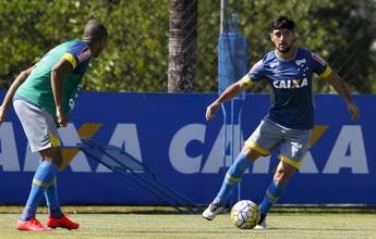 Ariel Cabral e Arrascaeta aparecem em último treino antes do Sport