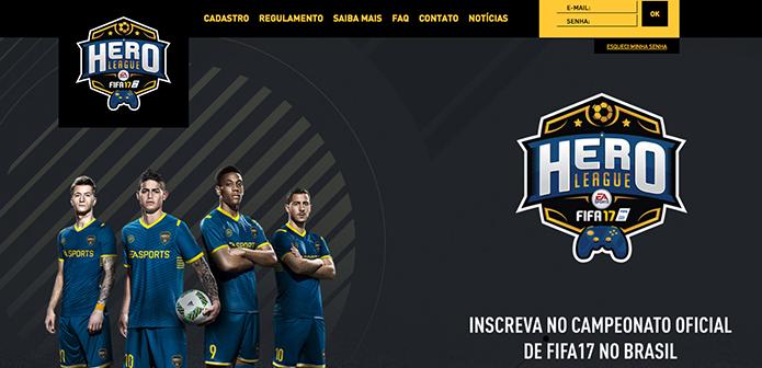 Acesse o site do evento do Fifa 17 (Foto: Reprodução/Murilo Molina)