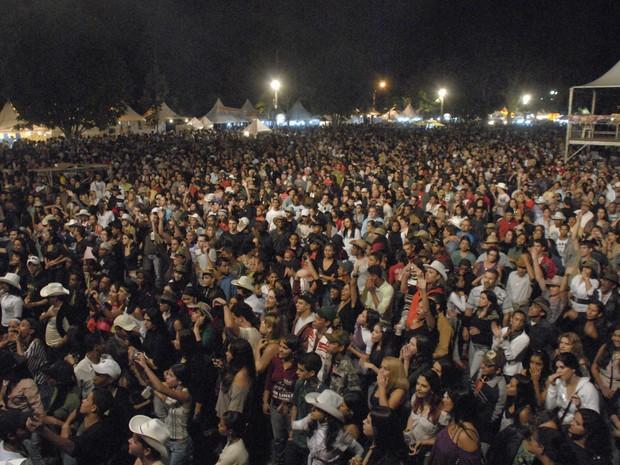 Cerca de 9500 pessoas passaram pelo evento nessa quinta-feira (16). (Foto: Elaine Siqueira / Assessoria do Evento.)