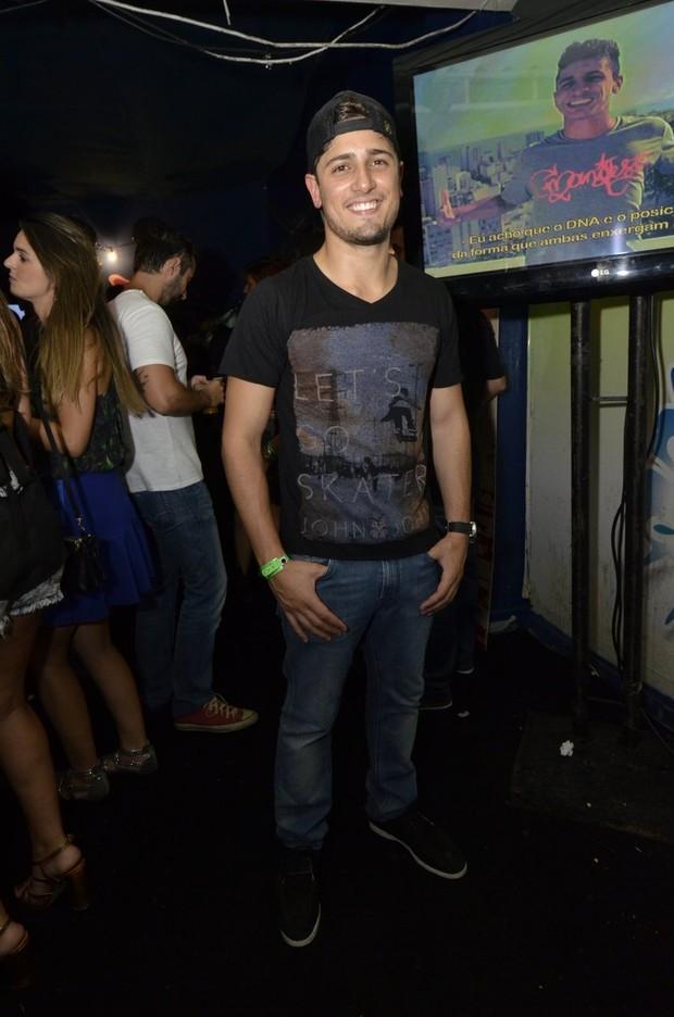 Daniel Rocha no 'Baile da Favorita' (Foto: Felipe Assumpção e Léo Marinho/ Ag, News)