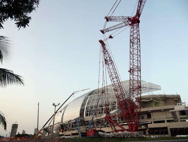 Arena das Dunas, em Natal - 27 de agosto (Foto: Jocaff Souza)