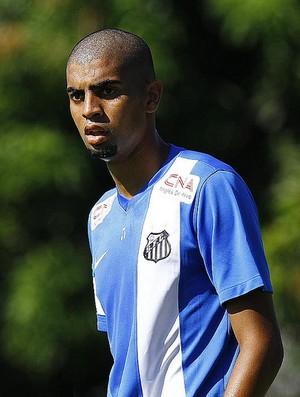Stéfano Yuri atacante Santos treino (Foto: Ricardo Saibun/ Santos FC)