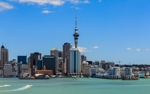 Auckland cityscape, North Island, New Zealand (Foto: Getty Images/iStockphoto)