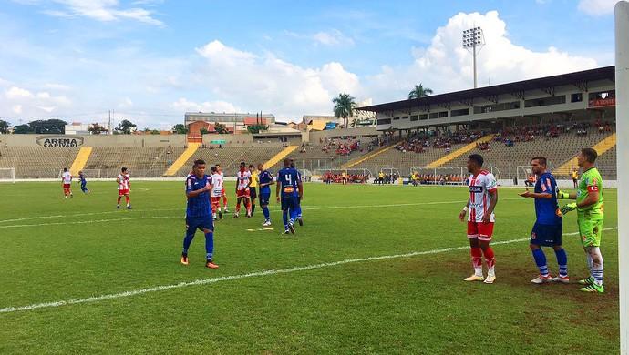 Capivariano x Penapolense Série A2 (Foto: Lucas Oliveira / Capivariano FC)