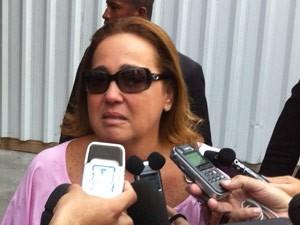 Claudia Jimenezs segue internada no Rio  (Foto: José Raphael Berrêdo/G1)
