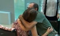 Fotógrafo e piloto de avião se reencontram (Reprodução/TV Bahia)