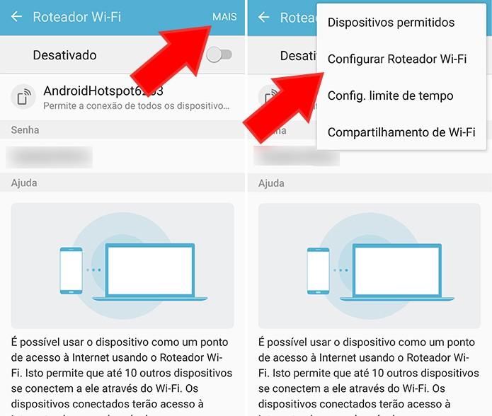 Configure o roteador Acesse o menu de ancoragem e roteamento (Foto: Reprodução/Paulo Alves)