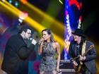 Ao lado de Pepeu Gomes, Claudia Leitte e Lui Medeiros cantam 'Smooth'
