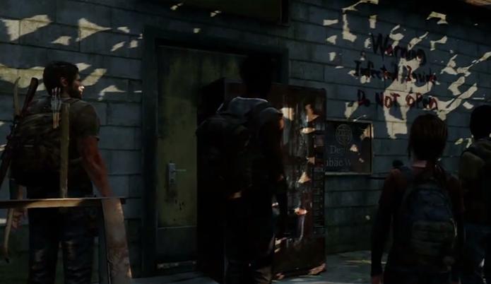 Uma referência ao seriado The Walking Dead (Foto: Reprodução/Youtube)