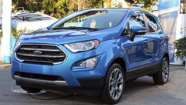 FOTOS: Ford EcoSport reestilizado