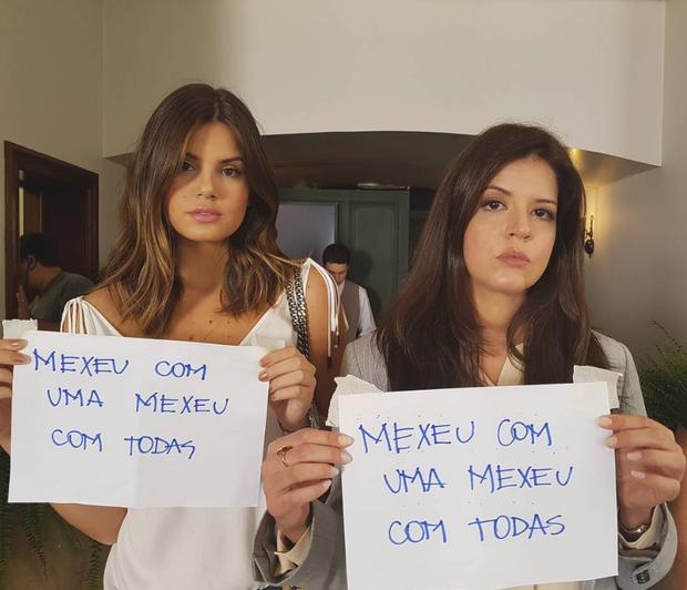 Camila Queiroz e Mariana Santos (Foto: Reprodução/Instagram)