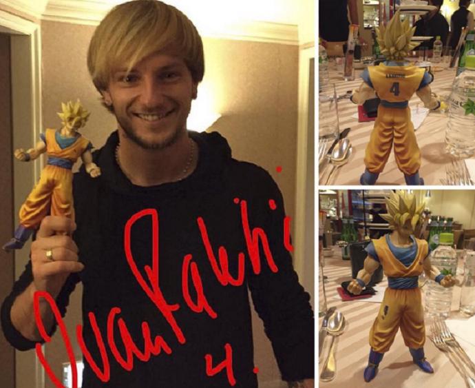 BLOG: Rakitic vira personagem do desenho Dragonball em passeio no Japão
