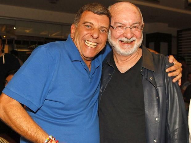 Jorge Fernando e Silvio de Abreu (Foto: Guerra dos Sexos / TV Globo)